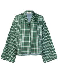 Ports 1961 - Oversized Checked Shirt - Lyst