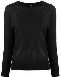 Aspesi ラグランスリーブ セーター - ブラック
