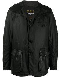 Barbour Supa-com シングルコート - ブラック