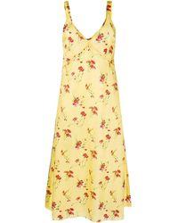 R13 - フローラル ドレス - Lyst