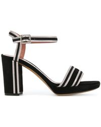 Bally - Contrast Striped Trim Sandals - Lyst
