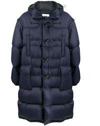 MSGM オーバーサイズ パデッドコート - ブルー