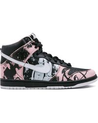 Nike Кроссовки Sb Dunk High Pro - Черный
