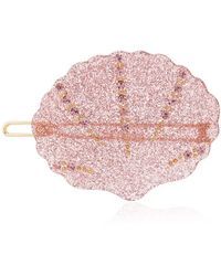 Valet Studio Kiki Shell Hair Clip - Pink