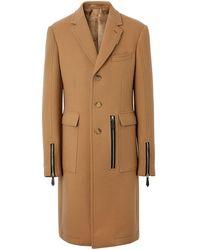 Burberry - Zip-detailed Coat - Lyst