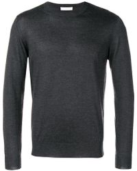 Cruciani - Classic Fitted Knit Sweater - Lyst