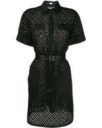 Karl Lagerfeld - Robe-chemise en broderies anglaises - Lyst
