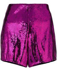 Philosophy Di Lorenzo Serafini - Sequin Embellished Shorts - Lyst