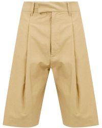 Ann Demeulemeester - Pantalones chinos cortos - Lyst