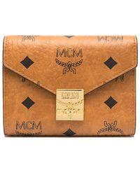 MCM Visetos 財布 - ブラウン