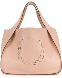 Stella McCartney Perforated Logo Tote - Meerkleurig