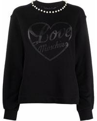 Love Moschino Love プルオーバー - ブラック