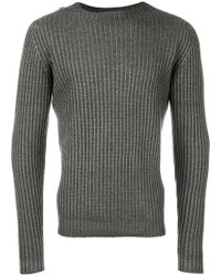 Dell'Oglio - Ribbed Jumper - Lyst