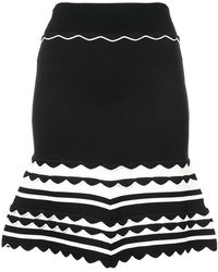 Yigal Azrouël - Knitted Striped Dress - Lyst