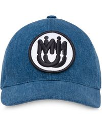 868913f96 Miu Miu Denim Bucket Hat in Blue - Lyst