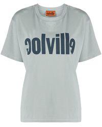 Colville ロゴ Tシャツ - ブルー