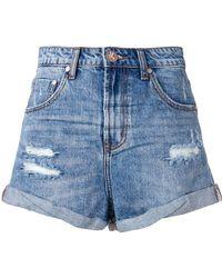 One Teaspoon - Denim Shorts - Lyst