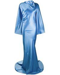 Rick Owens - ロング ドレープドレス - Lyst