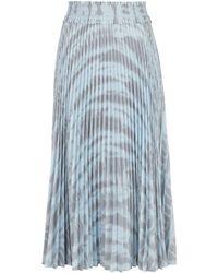 PROENZA SCHOULER WHITE LABEL タイダイ スカート - ブルー