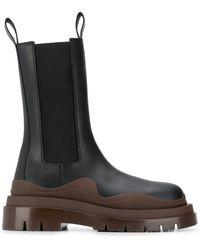 Bottega Veneta Ботинки Bv Tire - Черный