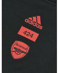 adidas スリーストライプ ネックウォーマー - ブラック