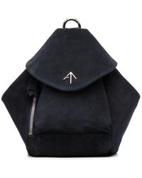MANU Atelier | Suede Mini Fernweh Backpack | Lyst