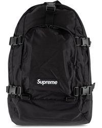 Supreme Fw19 Logo Backpack - Black
