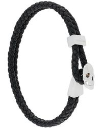 Northskull Bracelet de perles - Noir