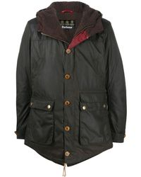 Barbour Hereford シングルコート - グリーン