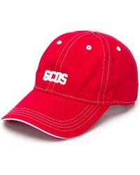 Gcds ロゴプレート キャップ - レッド