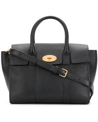 Mulberry | Bayswater Small Leather Tote | Lyst