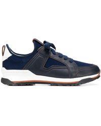 Ermenegildo Zegna Sneakers Siracusa - Blu
