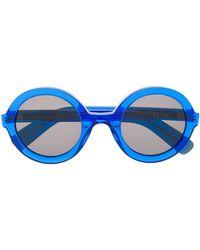 JOSEPH Runde Sonnenbrille - Blau
