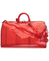 Louis Vuitton 2019 pre-owned Keepall Reisetasche, 50cm - Rot