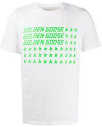 Golden Goose Deluxe Brand ロゴ Tシャツ - ホワイト