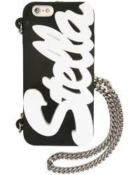 Stella McCartney Logo Iphone 6 Cover - Black