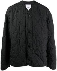 OAMC キルティング シングルジャケット - ブラック