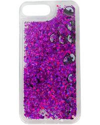 Chiara Ferragni Liquid Glitter & Eyes iPhone 7 plus case - Multicolore