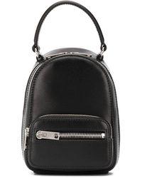 Alexander Wang Zipped Pocket Backpack - Black
