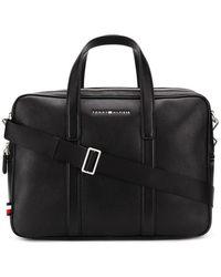 Tommy Hilfiger Downtown Laptop Bag - Black