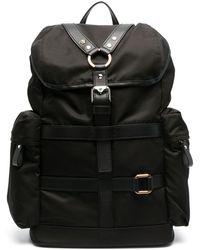 Versace ハーネス バックパック - ブラック