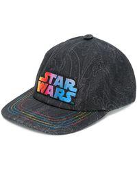 Etro Кепка С Надписью Star Wars - Черный