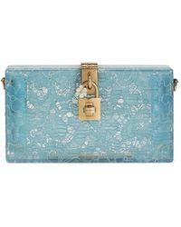 Dolce & Gabbana - Клатч Dolce Box - Lyst