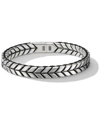 David Yurman Geweven Armband - Metallic
