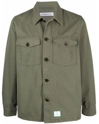 Department 5 シャツジャケット - グリーン