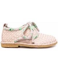Henrik Vibskov Berry Basket Lace-up Shoes - Multicolour