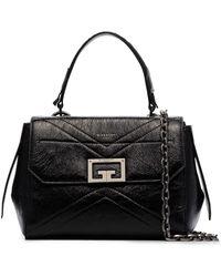 Givenchy レザーショルダーバッグ - ブラック