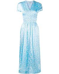 Ganni - フローラル ドレス - Lyst