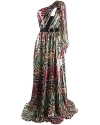 Philipp Plein Jungle Maxi Dress - Pink
