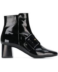 Flattered Mila Buckled Boots - Black